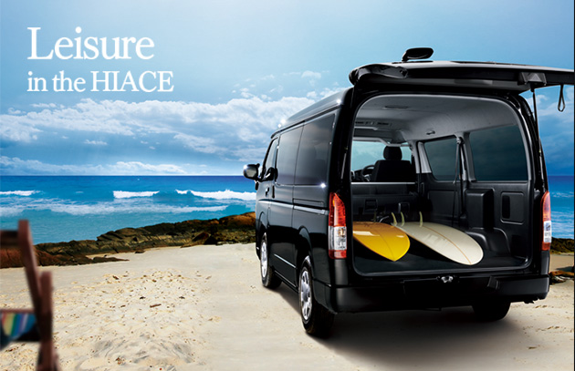 Leisure in the HIACE